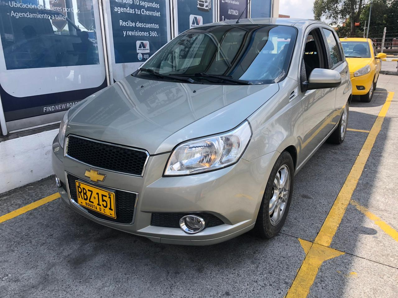 2010 CHEVROLET AVEO EMOTION GT 1.6L FULL PASAJEROS 1,6