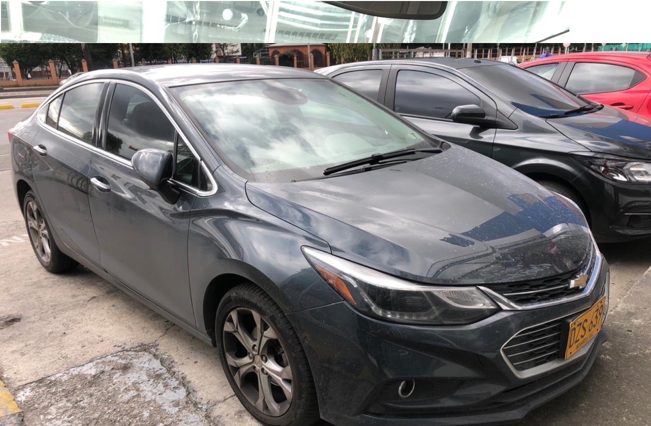 2017 CHEVROLET CRUZE LTZ 1.4L TURBO AT PASAJEROS 1,4