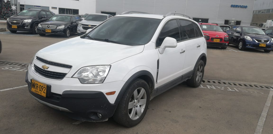 2012 CHEVROLET CAPTIVA SPORT NICKEL FULL PASAJEROS 2,4