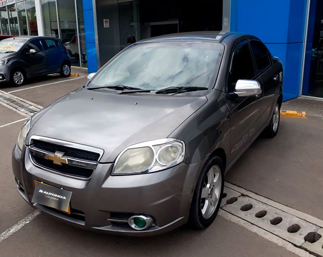 2012 CHEVROLET AVEO EMOTION 1.6 MT CA PASAJEROS 1.6L