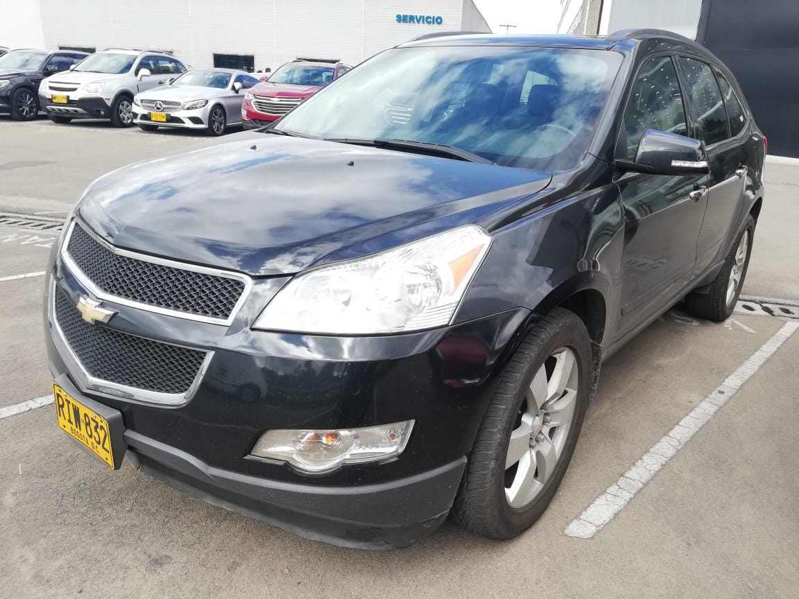 2011 CHEVROLET TRAVERSE 3.6L AT AWD PASAJEROS 3,6