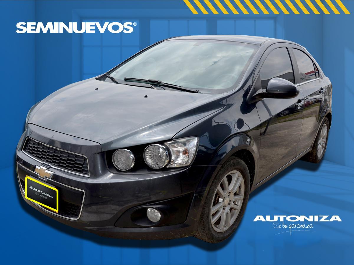 2013 CHEVROLET SONIC LT AUTOMATICO PASAJEROS 1.6L