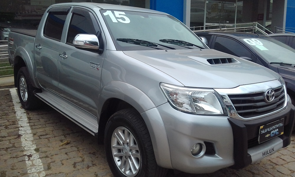 Toyota HILUX CD4X4 SRV 3.0 2015