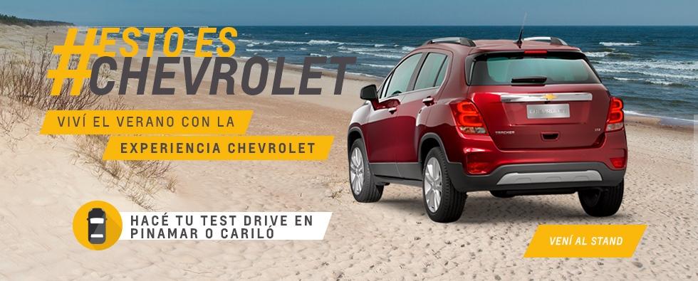 Test Drive Chevrolet en Thaun