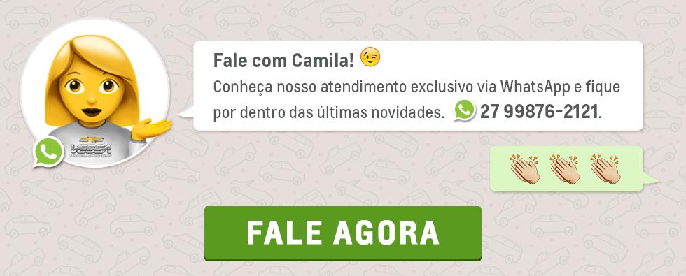 Banner Fale com a Camila