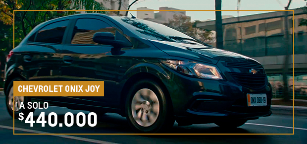 Oportunidad en Chevrolet Onix Joy en Ciudadela