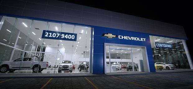 Fachada concessionária Chevrolet Contorno