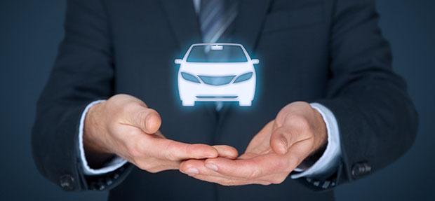 Carro com o Seguro Auto concessionária Chevrolet Contorno