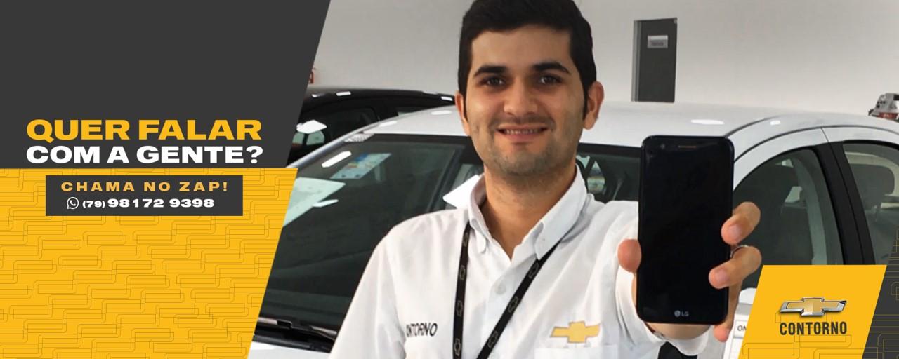 Fale com quem entende de carros em Aracaju. Contorno Chevrolet.