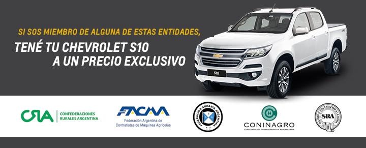 Chevrolet S10 Ventas Corporativas