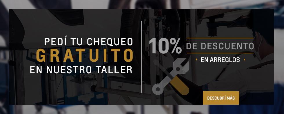 Chequeo gratis y descuentos en arreglos en taller oficial Chevrolet de Junín, San Nicolas de los Arroyos y Pergamino