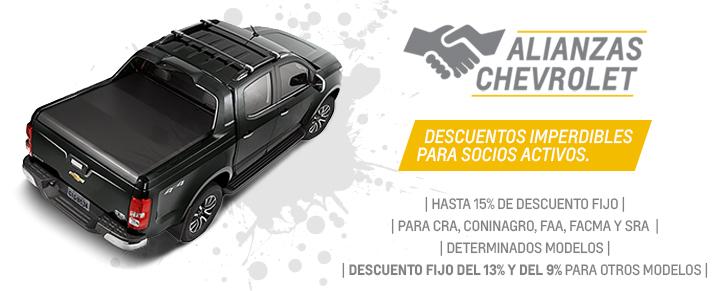 Alianzas Chevrolet en Fortecar