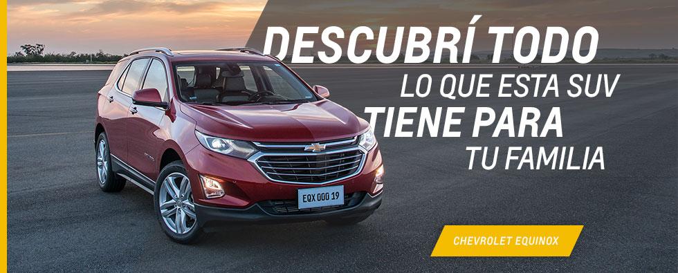 Nueva Chevrolet Equinox en Fortecar
