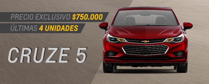 Chevrolet Cruze 5 en Pergamino, San Nicolas de los Arroyos y Junin