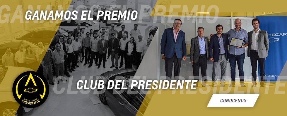 Fortecar Premio Club del Presidente