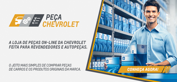 Comprar peças genuínas GM online para carros Chevrolet