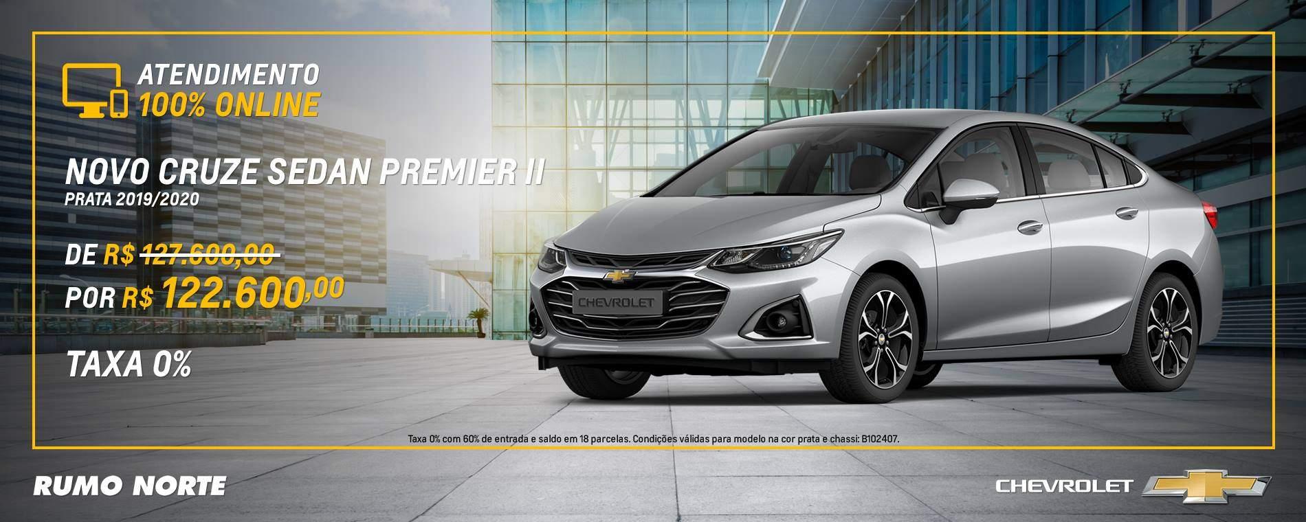 Novo Chevrolet Cruze Sedan Premier II