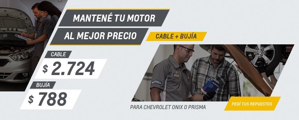 Cable y Bujía - Repuestos Originales Chevrolet en Mataderos