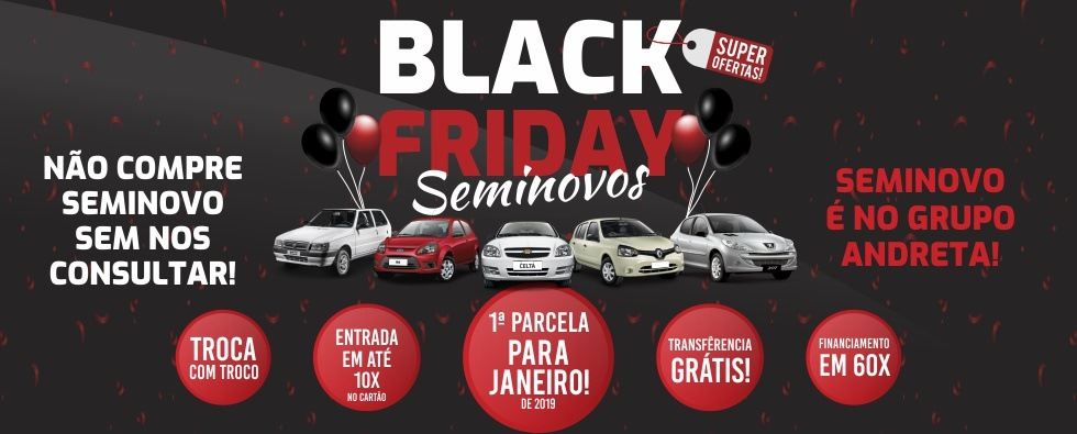 Adara Chevrolet - Home Black Friday Seminovos