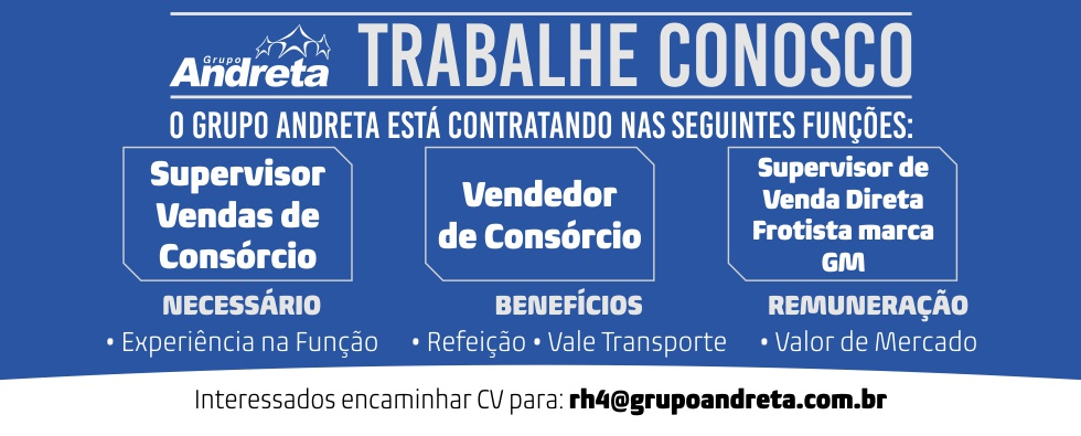 Adara Grupo Andreta - Home Vagas Janeiro