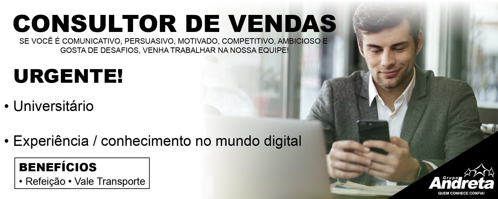 Grupo Andreta - Digitais Vaga Consultor (Home GM)