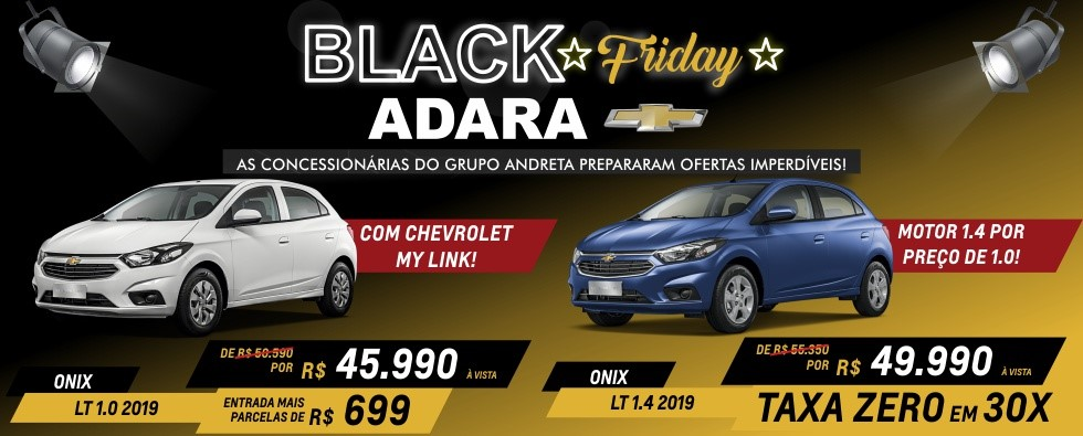 Adara - Home Black Friday (Onix Duplo)