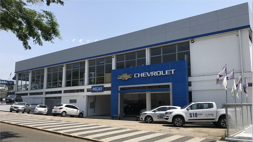 Fachada concessionária Chevrolet Adara Trevo