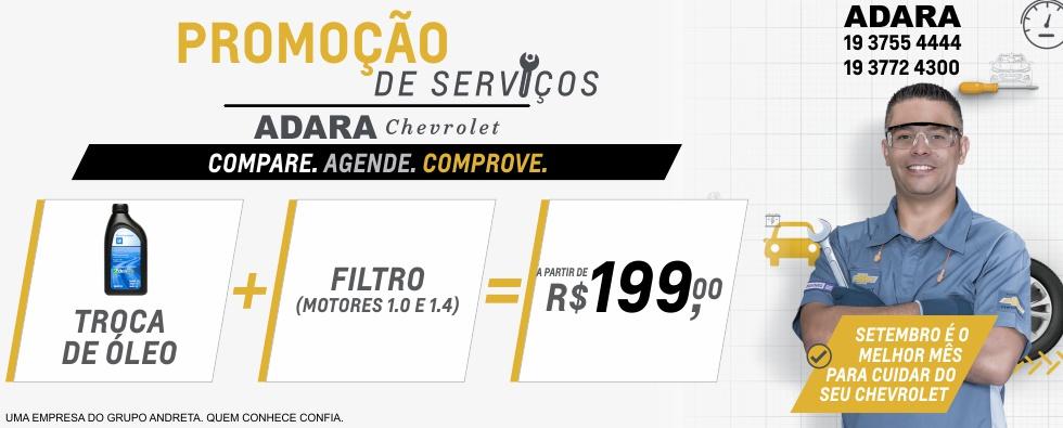 Adara - Site Servicos Setembro (Troca de Oleo)