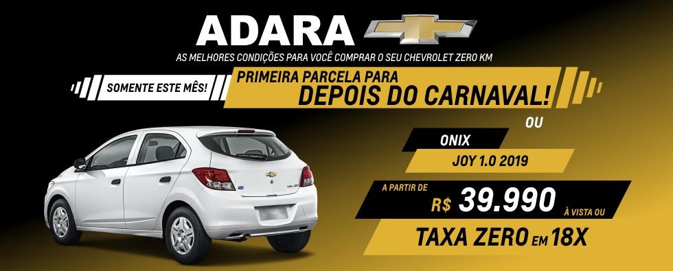 Adara - Home Primeira Carnaval (Onix Joy)