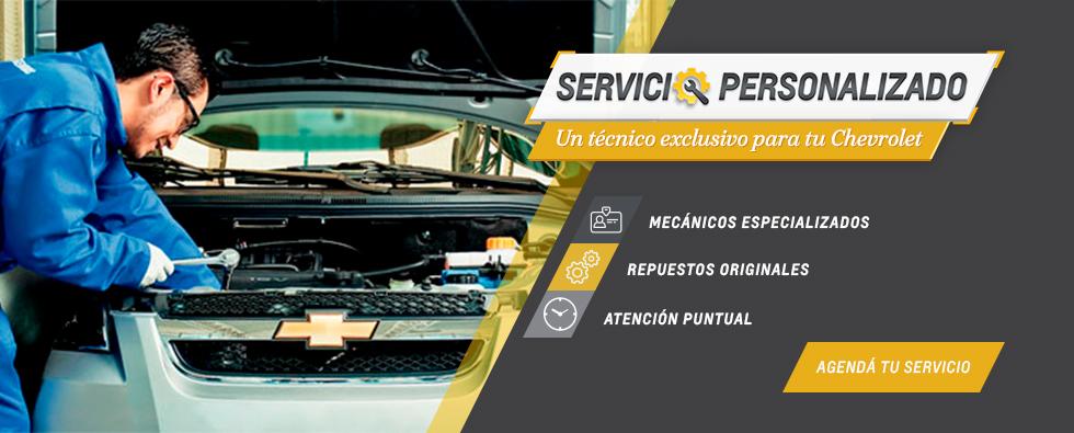 Servicio Personalizado Chevrolet en Sahiora