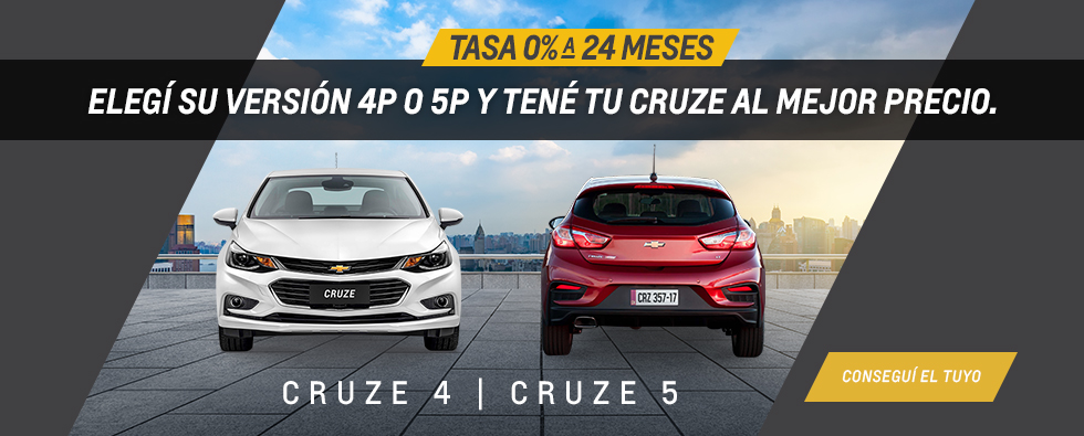 Oferta en Chevrolet Cruze