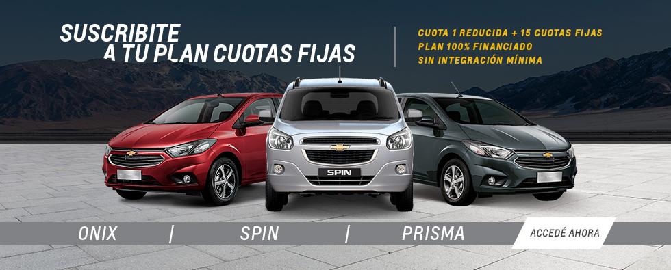 Plan Chevrolet 15 cuotas fijas en Ramonda Motors