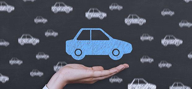 Carro com o Seguro Auto concessionária Chevrolet Total.