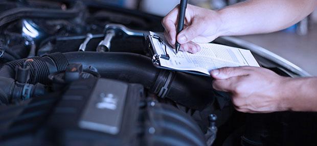 Serviços de manutenção e reparo para revisão de carros na concessionária Chevrolet Total