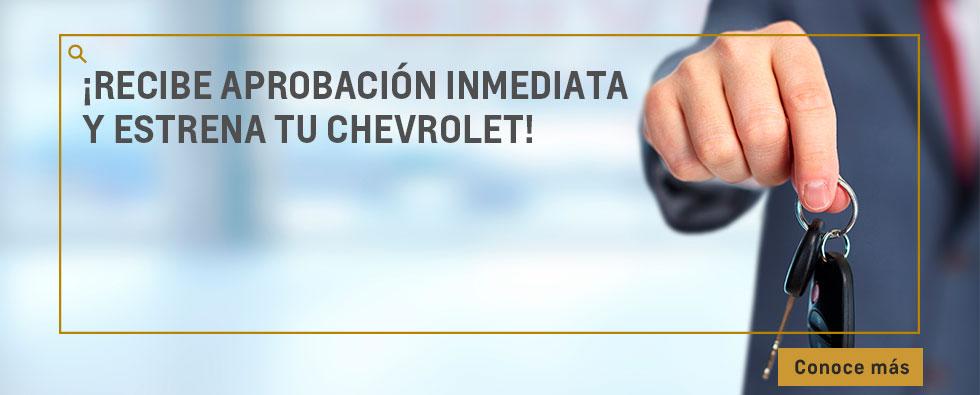 Estrena Chevrolet con aprobación inmediata en Automarcali