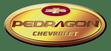 Logo concessionária Chevrolet Pedragon