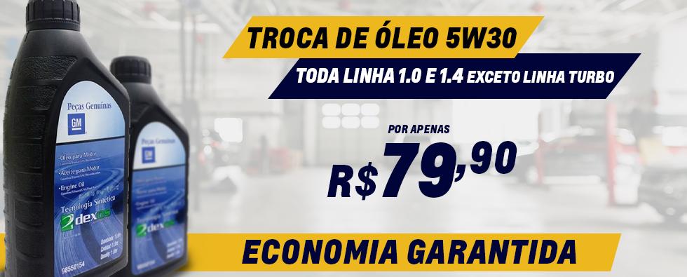 TROCA DE OLEO 5W30