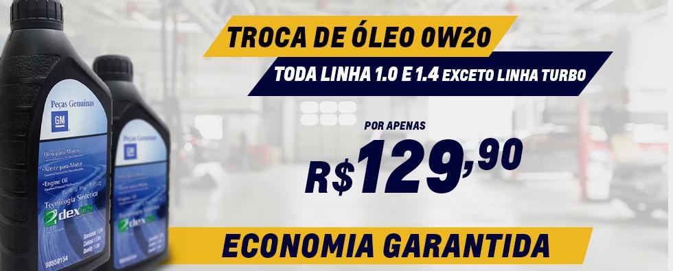 TROCA DE OLEO 0W20