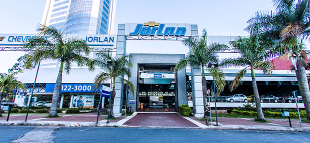 Fachada concessionária Chevrolet Jorlan