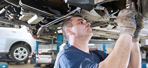 Serviços de manutenção e reparo para revisão de carros na concessionária ChevroletSudoauto