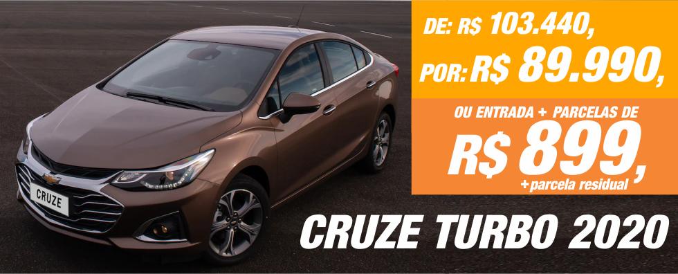 Cruze Turbo 2020