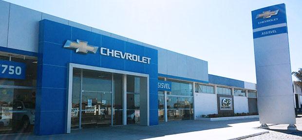 Fachada concessionária Chevrolet Assisvel