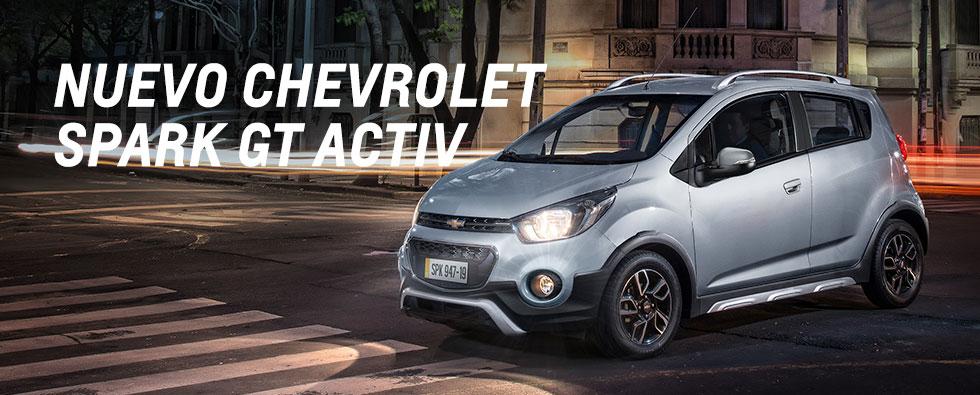 Llega a Colombia el nuevo Chevrolet Spark GT Activ