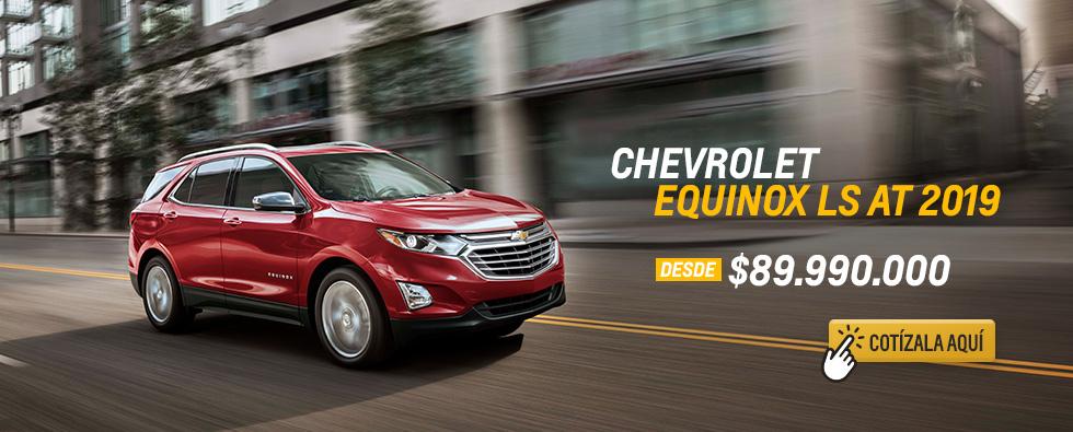 Chevrolet Equinox LS AT 2019