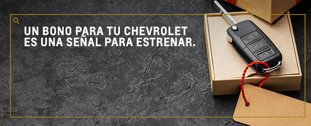 Chevrolet Vehicosta - Bonos para estrenar vehículo