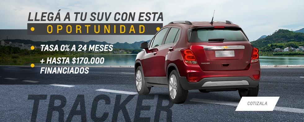 Oferta Chevrolet Tracker en Maipú