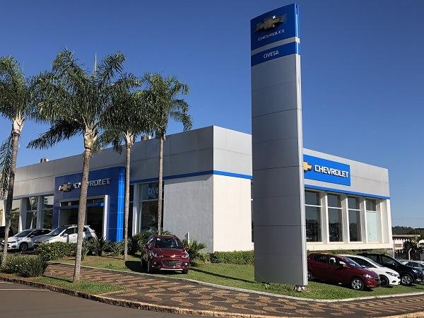 Fachada concessionária Chevrolet Civesa