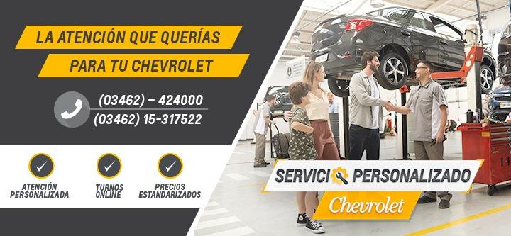 Servicio Personalizado Chevrolet en Chevent