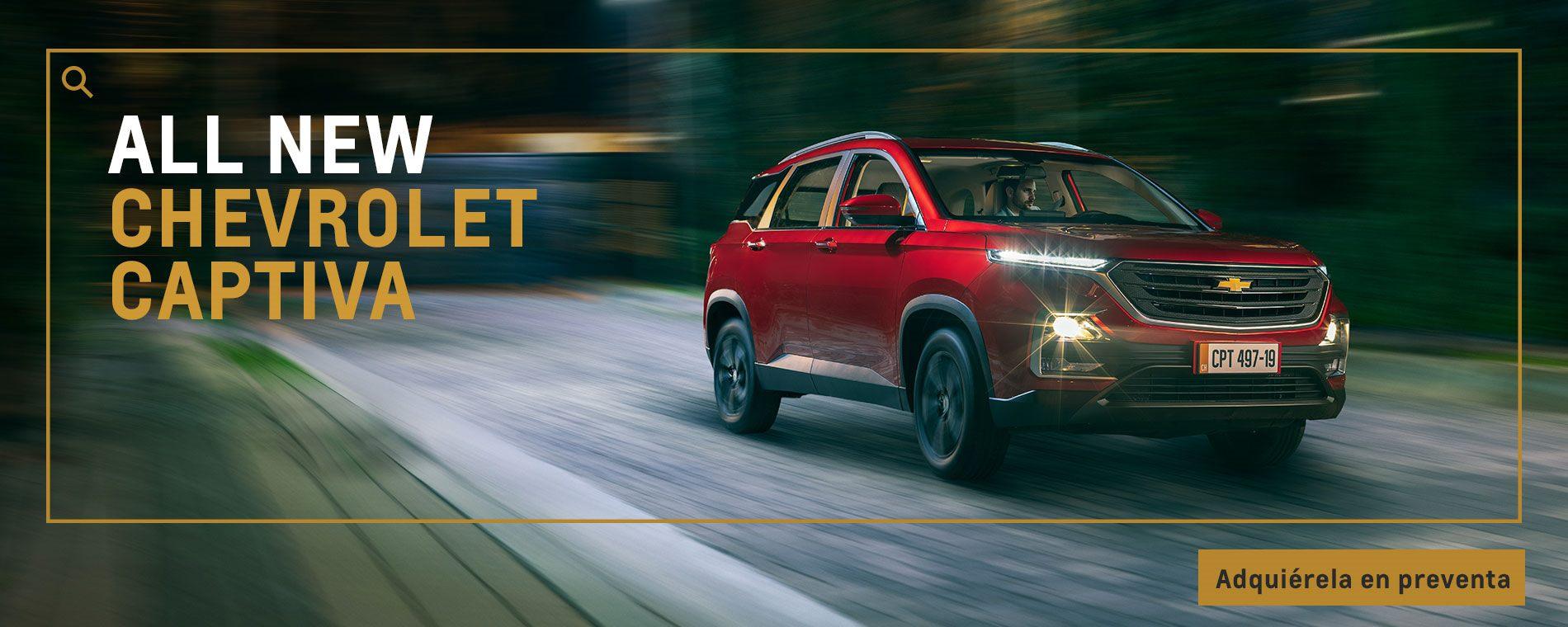 Chevrolet Autolarte - camioneta premium - Captiva Turbo