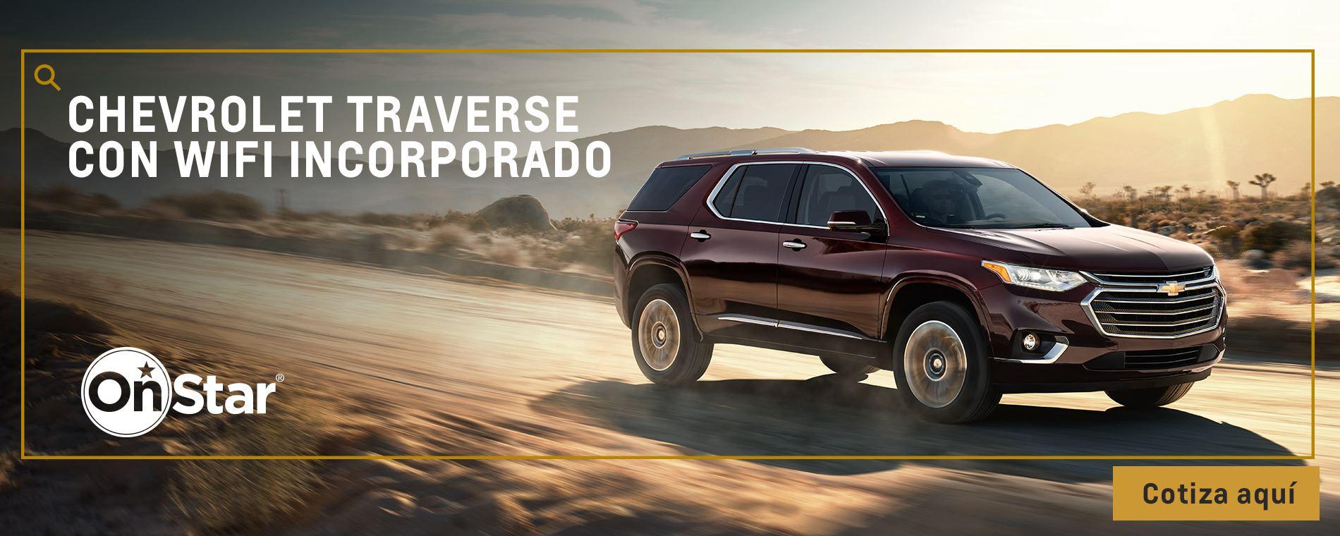 Chevrolet Autolarte - camioneta premium - Traverse Wifi